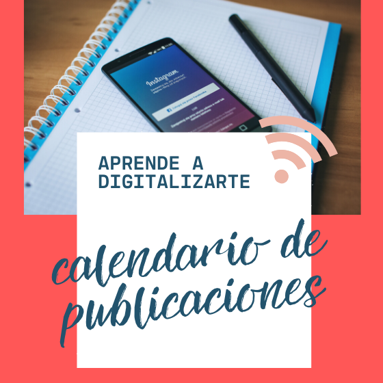 EL CALENDARIO DE PUBLICACIONES DEFINITIVO
